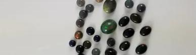black ethiopian welo opal cabs