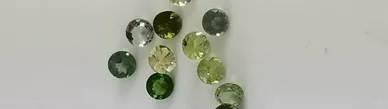 tourmaline faceted