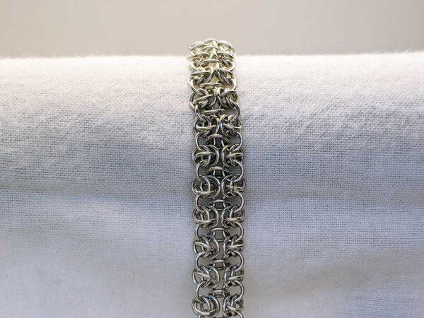 pretty chainmail bracelet