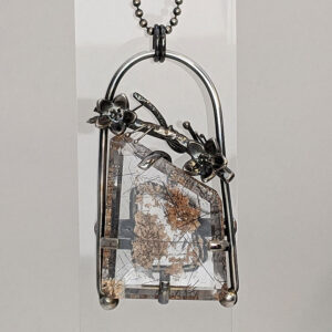 lodolite quartz necklace