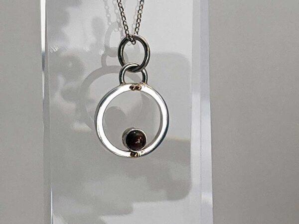 Ethiopian Black Welo Opal pendant