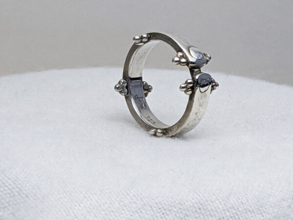 one of a kind crown ring
