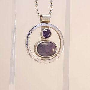 Amethyst star sapphire