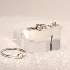 Cycles series skinny ring
